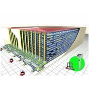 科华官方旗舰店-自动化立体仓库(AS/RS) 运用集成化物流理念,提高处理效率,适应多种存储要求