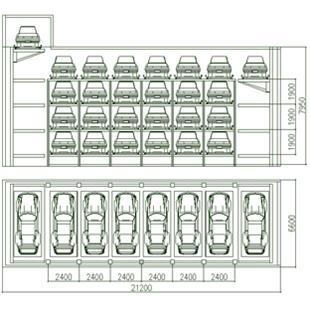 东杰智能YPDX多层循环类立体停车库_商品中心_物流搜索网