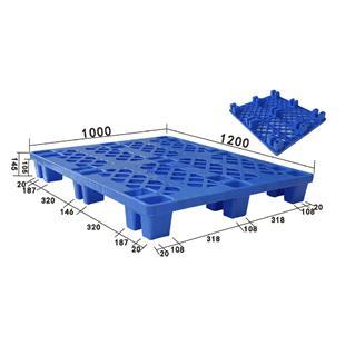 新能塑胶1210网格 1200*1000*140MM 九脚托盘_商品中心_物流搜索网
