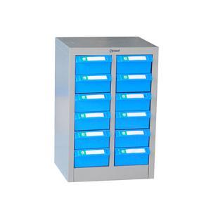 12个物料盒子组合柜,钢板冲压制成,手机收纳柜_商品中心_物流搜索网