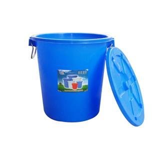 90L带盖塑料水桶,食品桶:口直径:465MM*桶身高度550MM_商品中心_物流搜索网