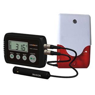 杭州朗米冷链  声光报警型电子温湿度记录仪  LM-TH23APRO(温湿度探头外置)_商品中心_物流搜索网