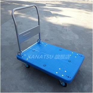 【希世】KANATSU静音手推车  PLA300Y-DX折叠平板车  拖车拉货搬运车_商品中心_物流搜索网