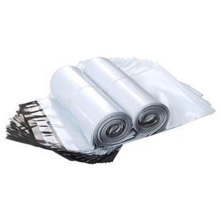 天元快递袋白色加厚防水物流塑料封口袋可印刷380*470+50_商品中心_物流搜索网