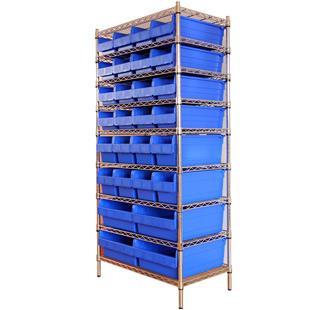 不锈钢7层零件盒式货架718*392*1735_商品中心_物流搜索网