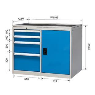 组合工具柜XB70-4SMG_商品中心_物流搜索网