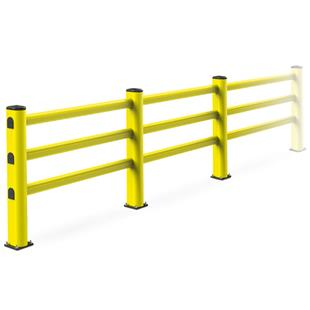 库猫智选 意大利原装进口 MPM三层人行护栏 运用特殊性PVC材质制成有弹性可有效性吸收外来撞击。_商品中心_物流搜索网