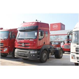 东风柳汽龙卡340马力 6x4 牵引车 lz4253jdf