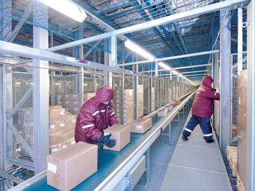 仓库管理系统提高俄罗斯miratorg冷冻食品配送能力