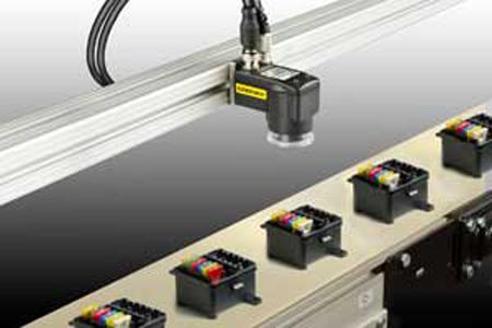 康耐视推出了简单易用的颜色视觉传感器