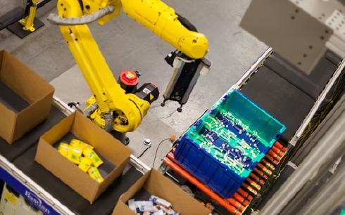 """前沿3d技术使""""货到机器人""""拣选更智能"""