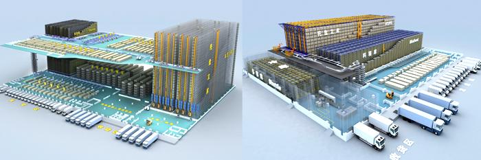 科伦集团密集式自动化储分一体仓库系统创新性应用
