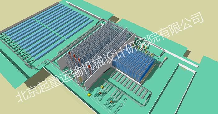 宏发电力电器智能物流系统项目