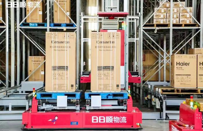 【物流案例】中国首个大件无人仓-看日日顺如何引领大件物流行业