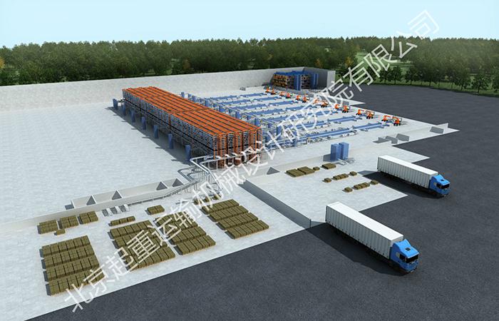 美的磁控管新工厂物流系统总集成项目