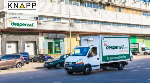科纳普OSR穿梭车系统助力西班牙食品零售电商