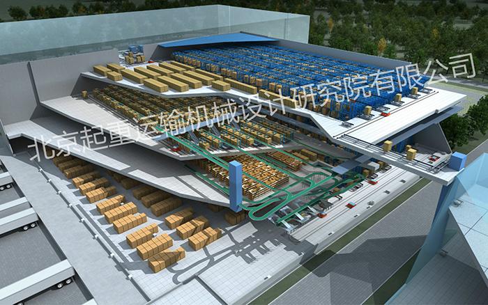 公牛电器慈东生产中心自动化立体仓库项目