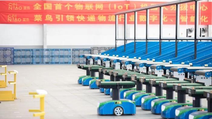 100台机器人,60多个配送网点,菜鸟宣布南京将成为物流IoT之城!