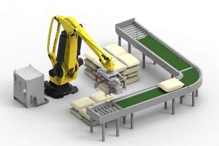分拣流水线机器人应用方案