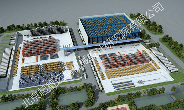 上汽国际分拨中心自动化立体仓库系统