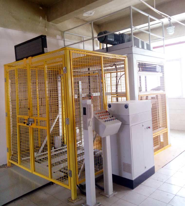 老昆烟生产三部托盘升降系统项目