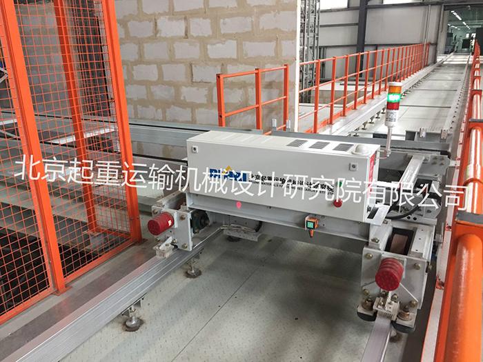 滨州华纺工业园智能仓库设备项目