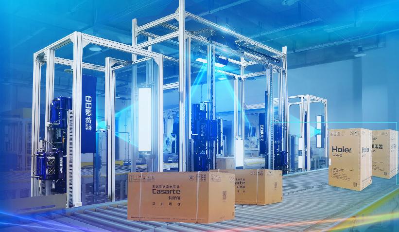 案例精选   大件物流首个无人仓,平均每天处理订单达3000单,装卸货等待时间0.4小时