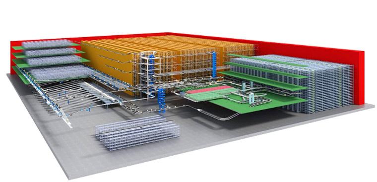 锋馥为湖北九州通医药创建的配送中心物流系统