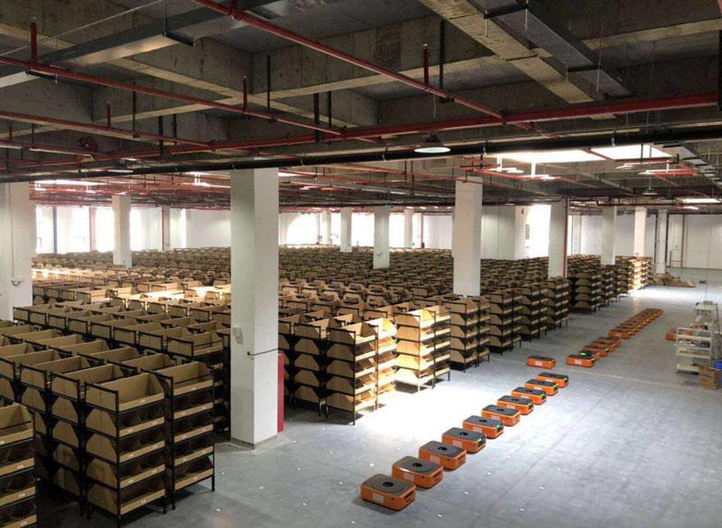 海鼎案例|杭州联华华商集团物流项目