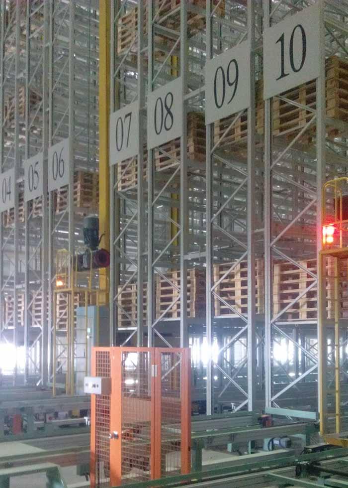 乌兰浩特堆垛机系统项目