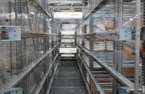 科纳普OSR穿梭系统助力全球先进零售配送中心