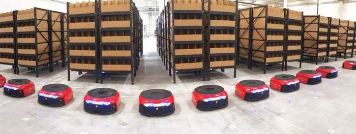 捷豹路虎携手马路创新,汽车行业规模最大的智能化AGV项目落地中国