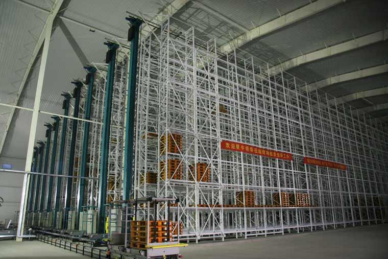 国内首座低温乳制品冷库自动化立体仓库(AS/RS)