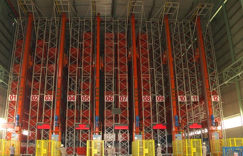 宝钢湛江钢铁仓储工程立体库设备