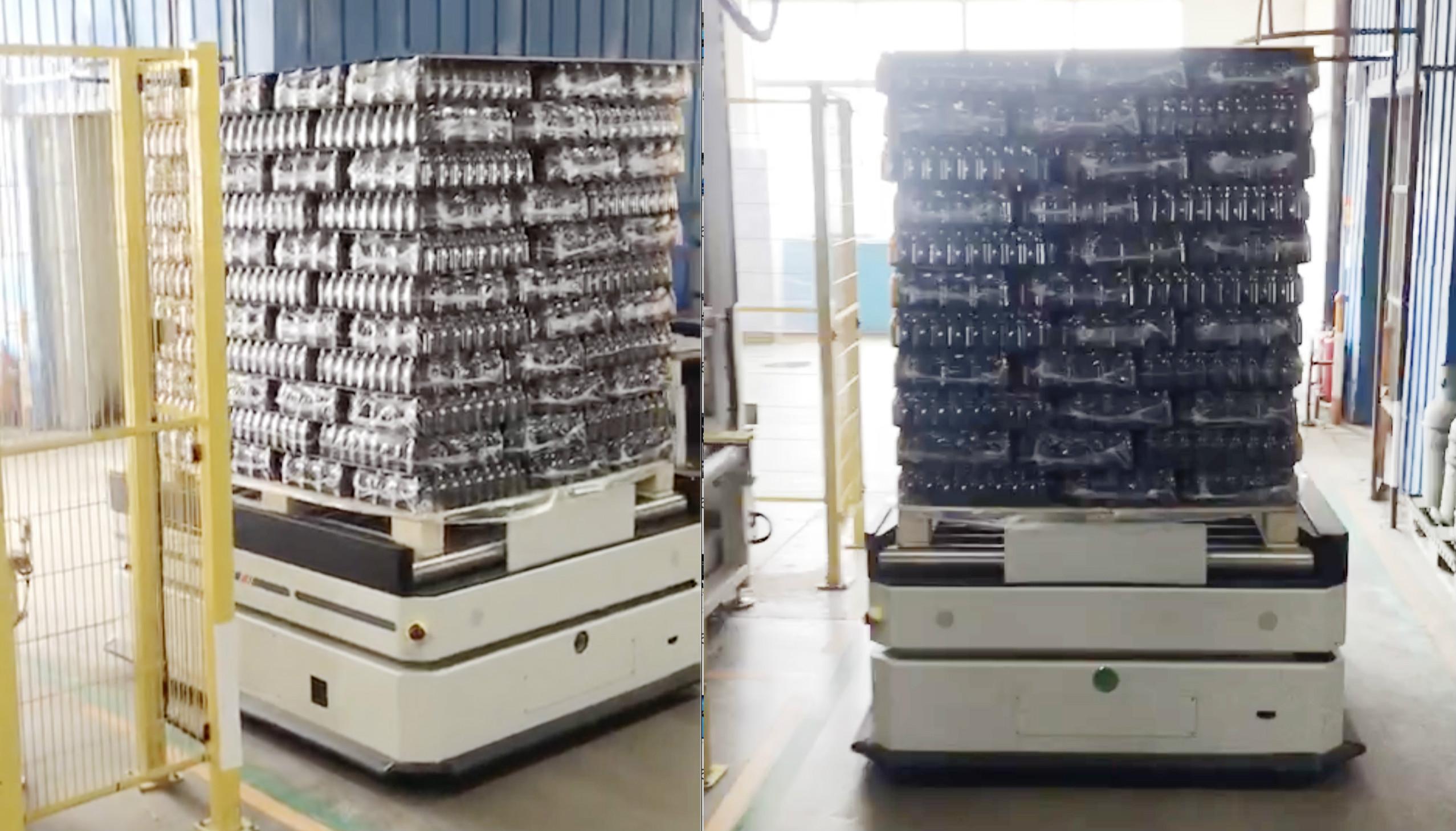 迦智科技重载AGV助力企业高效精益生产物流