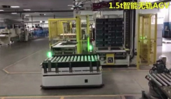 【案例】迦智科技重载AGV助力企业高效精益生产物流