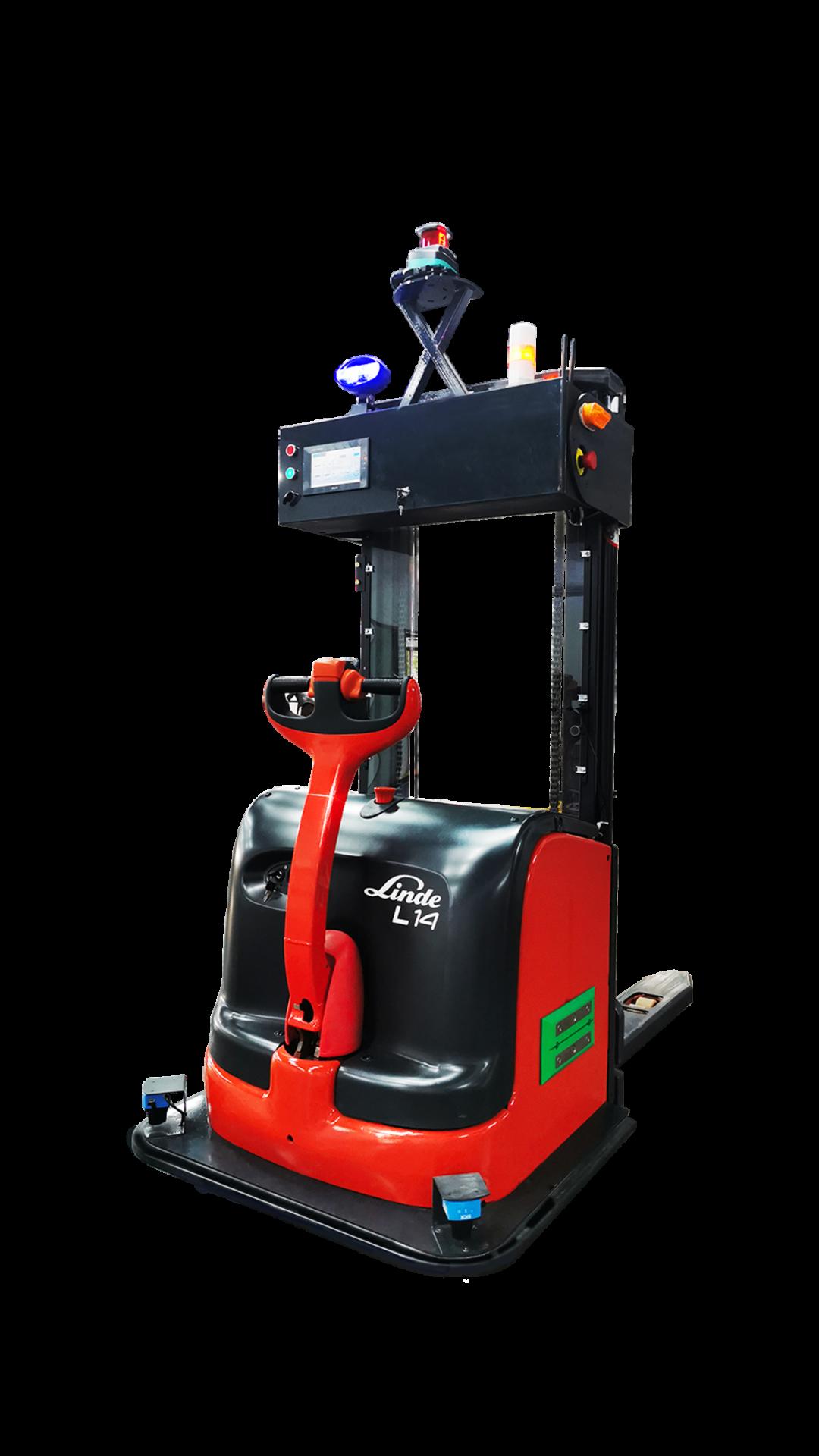 精选案例 | 基于SRC的激光SLAM自动叉车在工厂智能搬运中的应用