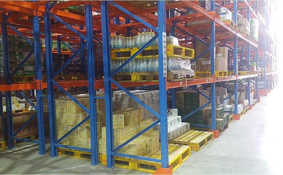 外运良友仓首次采用双深位货架提高仓库利用率,实现全面精细化管理物流作业