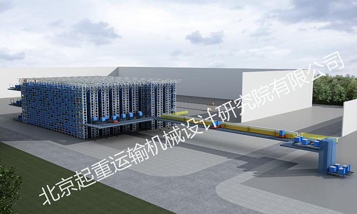 SEW电机(苏州)自动化立体仓库项目