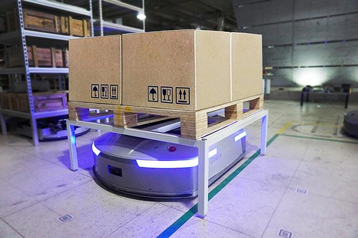 极智机器人搬运系统