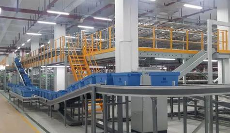 伍强科技携手苏州恒鼎全力打造第三方医药物流中心