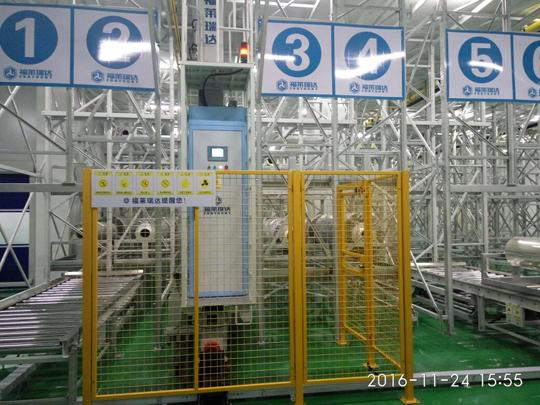 深圳市三利谱光电科技股份有限公司洁净车间立体仓库与自动物流系统项目