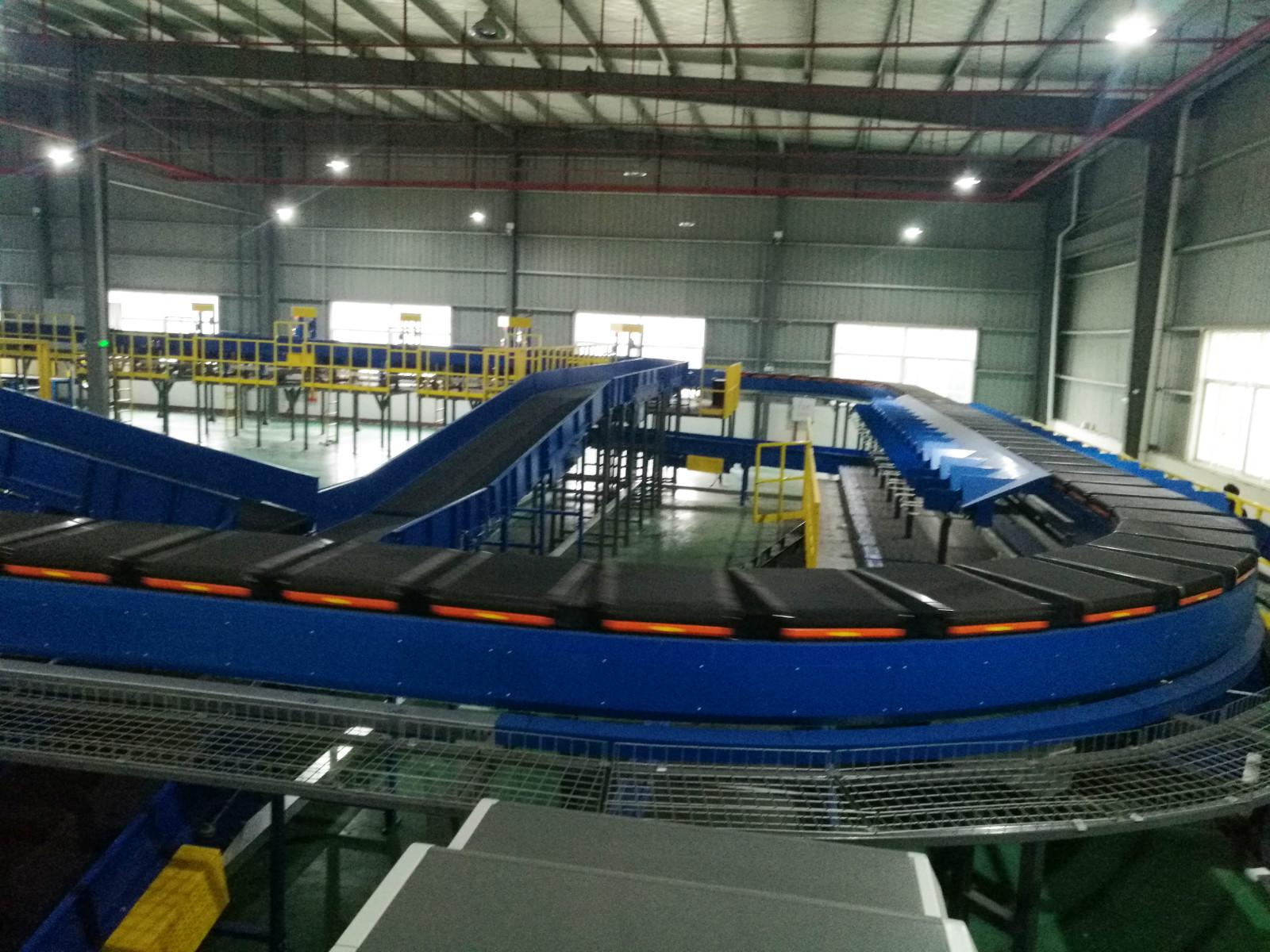 案例精选 | 高速分拣技术助力晋江陆地港国际突破国际业务瓶颈