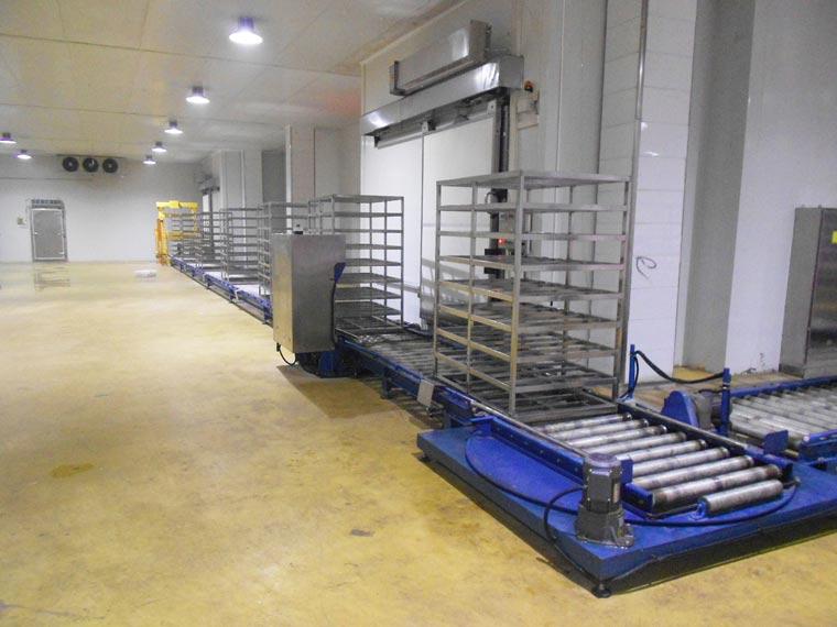 河南永达道口食品有限公司智能速冻仓储系统项目