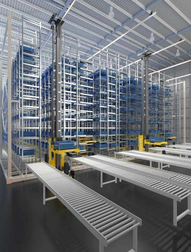 凯乐士 仓储堆垛机自动化存取系统方案